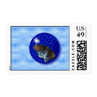 Butterfly ball Stamp