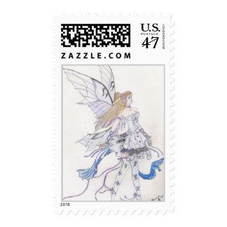 Butterfly Ballerina Postage