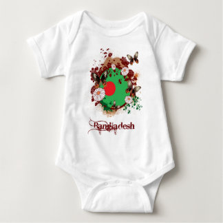 Butterfly Bangladesh Baby Bodysuit