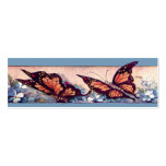 Butterfly Bar Bookmark Business Card Template