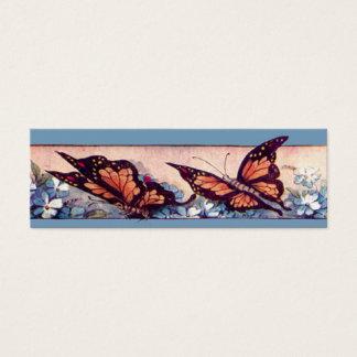 Butterfly Bar Bookmark Mini Business Card