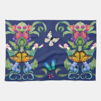 Butterfly Baroque Kitchen Towels