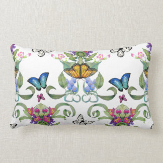 Butterfly Baroque Throw Pillows