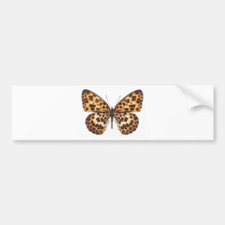butterfly - be your authentic self bumper sticker