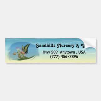 Butterfly Beach Promotional Bumper Sticker