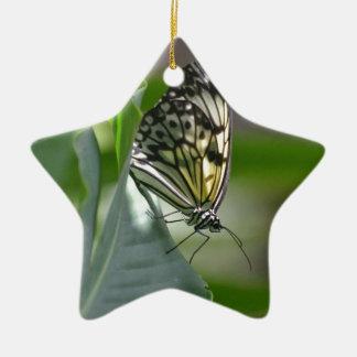 Butterfly Beauty Ceramic Ornament