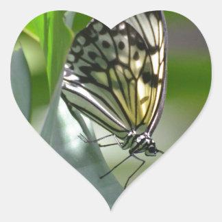 Butterfly Beauty Heart Sticker