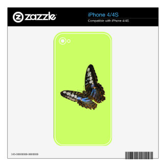 Butterfly Beauty Insect-lovers Gift Series Skin For iPhone 4S