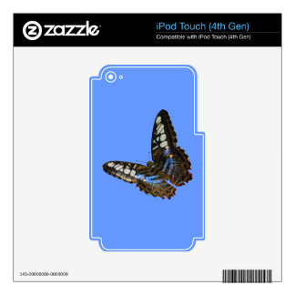 Butterfly Beauty Insect-lovers Gift Series Skin For iPod Touch 4G