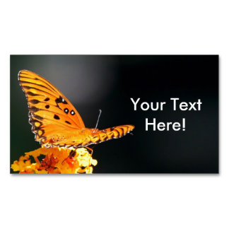 Butterfly Beauty Magnetic Business Cards (Pack Of 25)