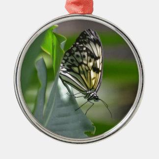 Butterfly Beauty Metal Ornament