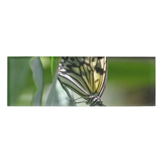 Butterfly Beauty Name Tag