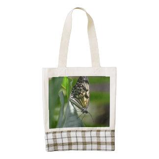 Butterfly Beauty Zazzle HEART Tote Bag