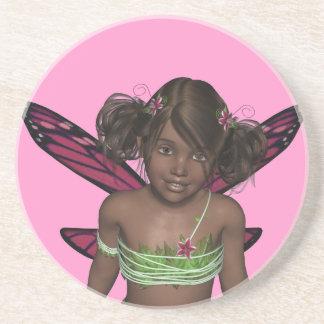 Butterfly Beri Fairy Pixie Dust Coaster