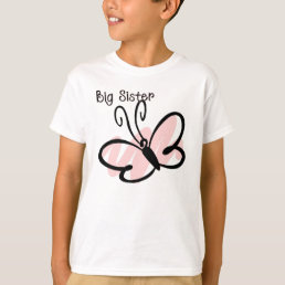 Butterfly - Big Sister T-Shirt