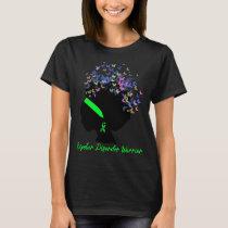 Butterfly Bipolar Disorder Warrior T-Shirt