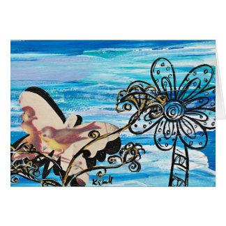 Butterfly Bird Card