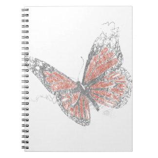 Butterfly (Biro) Spiral Notebook