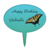 Butterfly Birthday Cake Topper