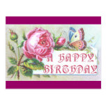 Butterfly Birthday Card Post Card
