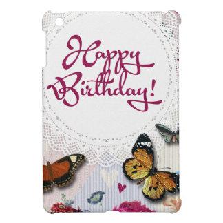 Butterfly Birthday iPad Mini Cases