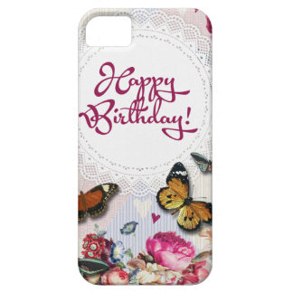 Butterfly Birthday iPhone SE/5/5s Case