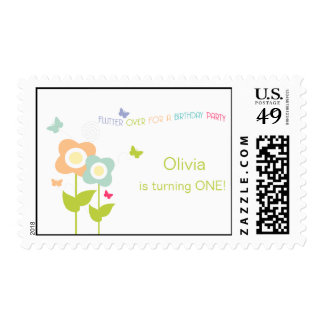 Butterfly Birthday Postage