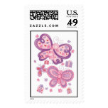 Butterfly Birthday Postage Stamp