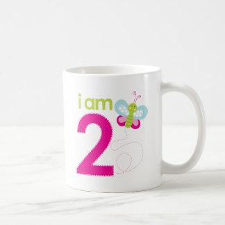 Butterfly birthday Tshirt Classic White Coffee Mug