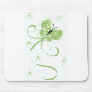 Butterfly Birthstone-August (Rachel LaRae Yeager) Mouse Pad