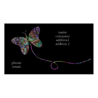 butterfly bizcard Double-Sided standard business cards (Pack of 100)