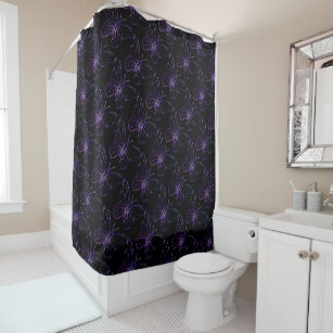 black and purple shower curtain. Butterfly Black Purple Shower Curtain Black And Purple Shower Curtains  Zazzle