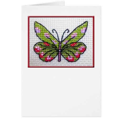 Butterfly blank notecard 02