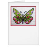Butterfly blank notecard 02 greeting cards