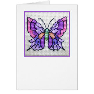 Butterfly blank notecard 03