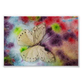 Butterfly Blessing Poster