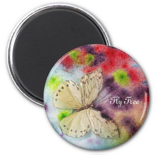 Butterfly Blessings Magnet