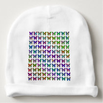 Butterfly bliss. baby beanie