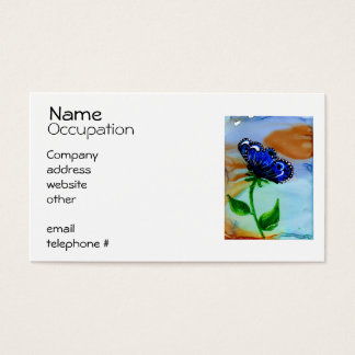 Butterfly Bloom Business Card