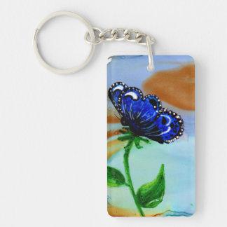 Butterfly Bloom Keychain