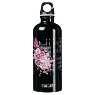 Butterfly Blossom Aluminum Water Bottle