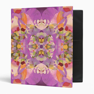Butterfly Blossoms in Magenta Binder