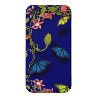 Butterfly Blossoms iPhone Case iPhone 4/4S Covers