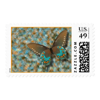 Butterfly: Blue and Brown Swallowtail Stamps