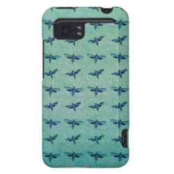 Butterfly blue HTC vivid / raider 4G case