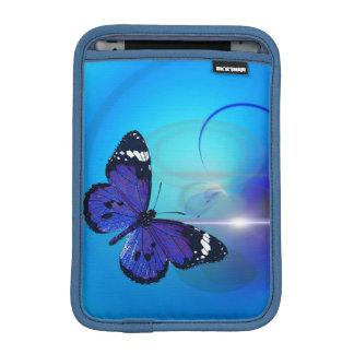 Butterfly Blue iPad Mini Vertical Sleeve iPad Mini Sleeve