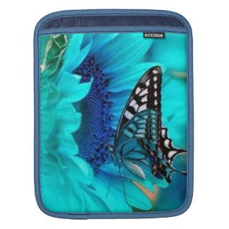 Butterfly Blue iPad Sleeve