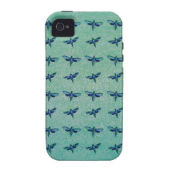 Butterfly blue iPhone 4/4S cover