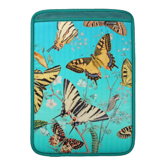 Butterfly Blue Mix Sleeve For MacBook Air