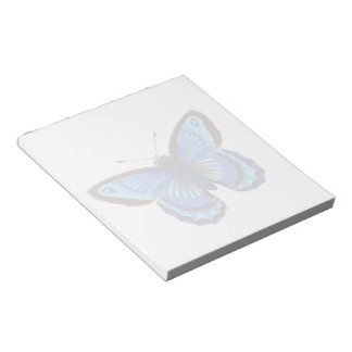 Butterfly blue Notepad (2) sizes
